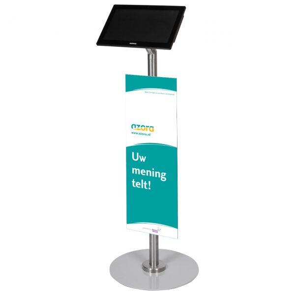 S-serie Tablet vloerstandaard ST14 Azora - Digitale infozuil
