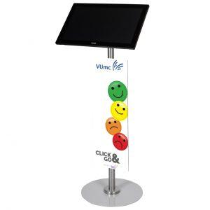 S-serie Tablet vloerstandaard ST22 VUmc- Digitale infozuil