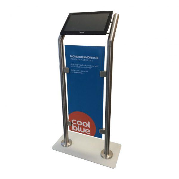 D-serie Tablet vloerstandaard - Digitale infozuil
